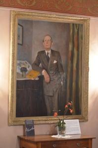 Retrato de Azorín en el museo que lleva su nombre en Monóvar