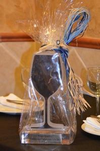 Premio al mejor sumiller de la Comunidad Valenciana 2013 obtenido por Garri
