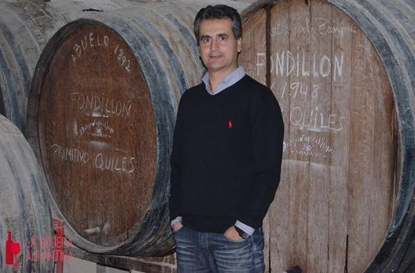 """Francisco Quiles, bodeguero de Primitivo Quiles: """"Somos una bodega fiel a los vinos que solo se pueden hacer en Alicante, por ser hijos del clima, del suelo y de la variedad autóctona"""""""