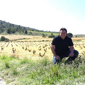 Pepe Mendoza en uno de los viñedos sus bodegas / mesayvino.com