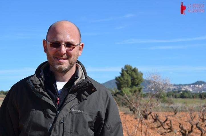 Sèbastién Boudon apostó por las variedades autóctonas Monastrell y Garnacha para su proyecto personal Chapó Wines.