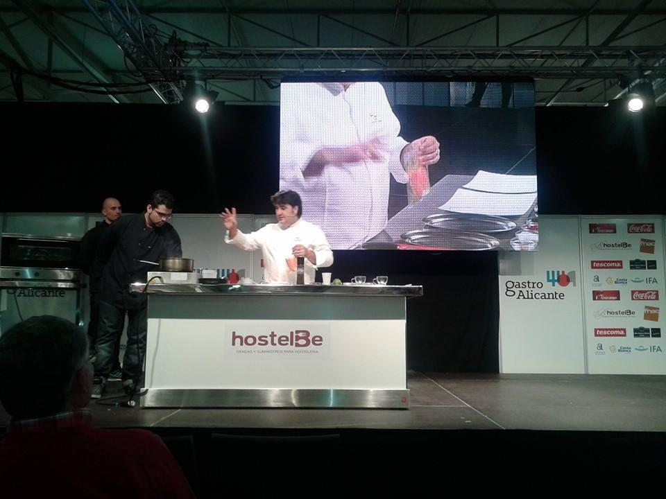Sergio sierra heredero copropietario y jefe de cocina de for Jefe de cocina alicante
