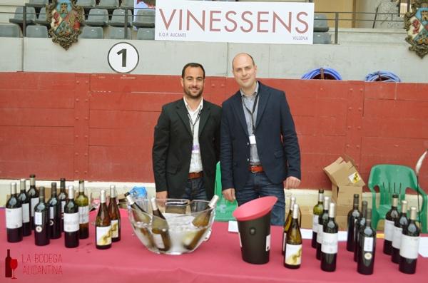 Andrés Carull se mostró satisfecho con esta primera edición de Vinouvelle y cree que año a año irá mejorando.