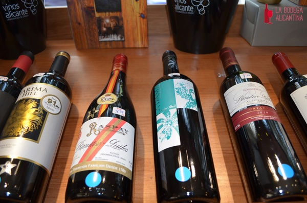 Los vinos de la bodega Faelo, se unen a los de Primitivo Quiles en esta iniciativa de la enoteca Vinart por fomentar los vinos alicantinos.