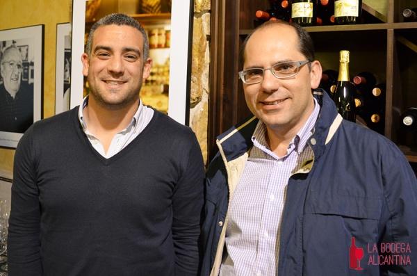 LBA Javier Navarro y Miguel Ángel Diaz Internacionalización vinos