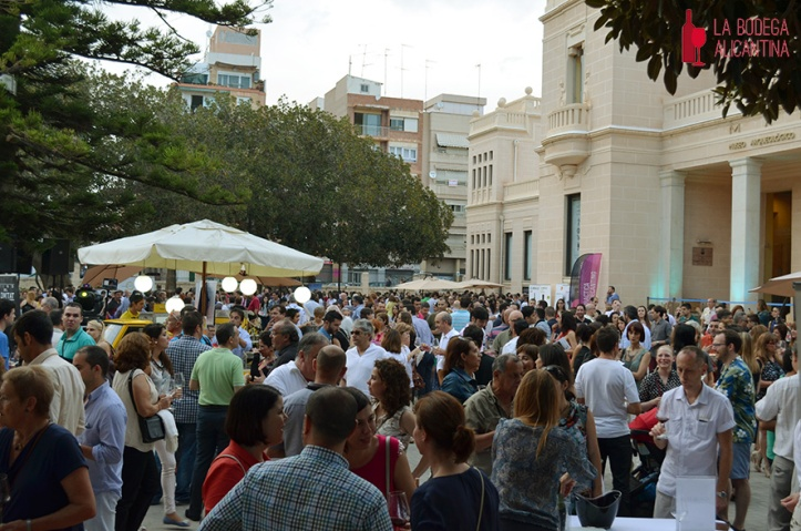 El MARQ volvió a ser la sede del Winecanting Summer Festival. /LBA