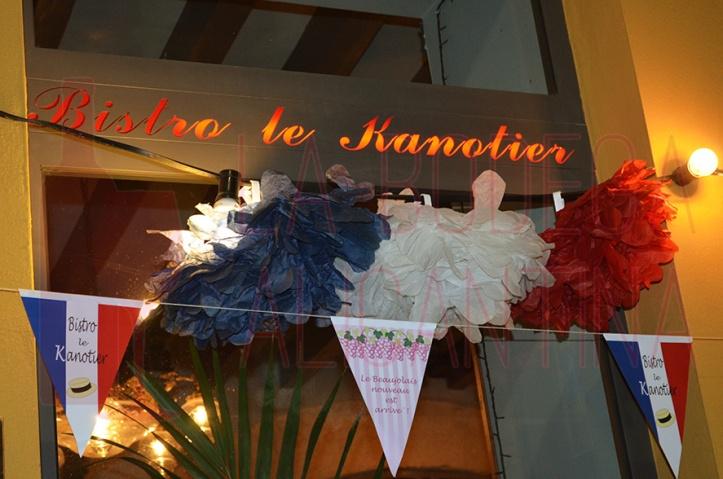 Por tercer año consecutivo Le Kanotier celebra la fiesta del beaujolais noveau en Alicante. /LBA