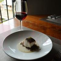 Receta para un vino de Monastrell: Besugo negro con pilpil de setas